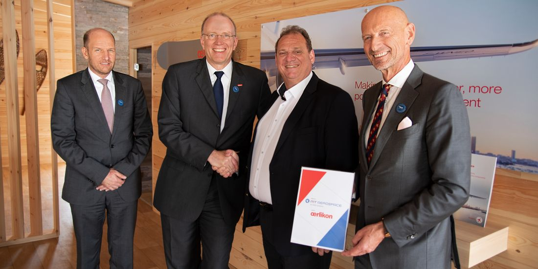 MT Aerospace and Oerlikon MA seal their partnership.